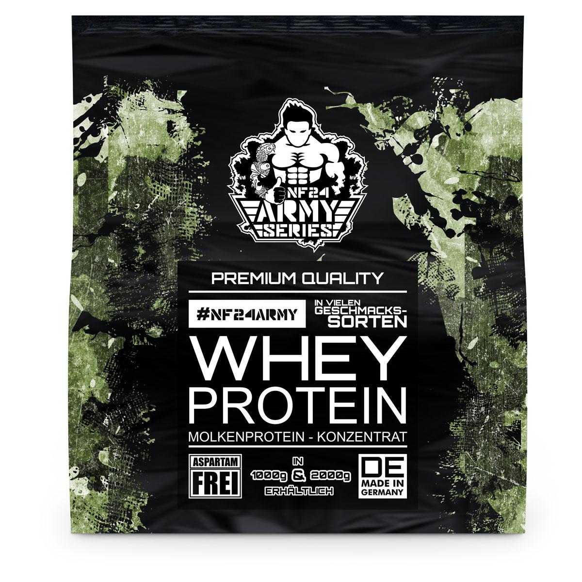 whey protein mit geschmack