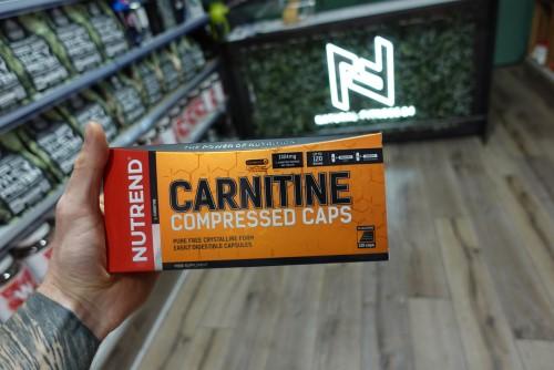 nutrend carnitine compressed caps